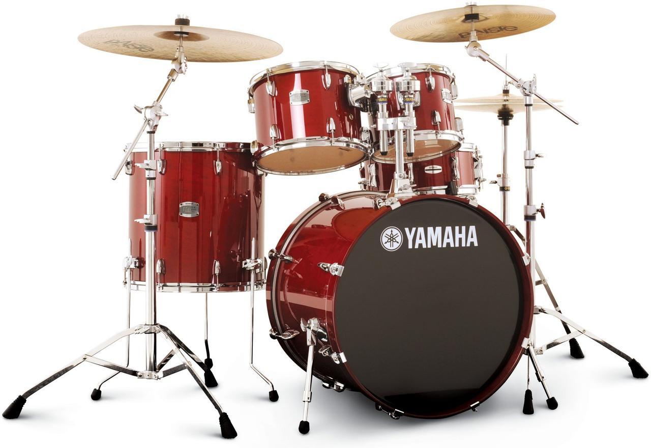 (Русский) Барабанная установка Yamaha stage custom + Hardware