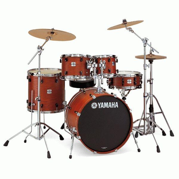 Барабанная установка Yamaha maple custom Full set + Hardware