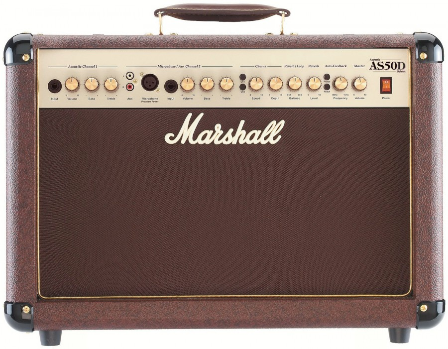 Комбоусилитель для акустических гитар Marshall-AS50D