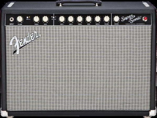 (Русский) Комбоусилитель для электрогитар Fender SuperSonic Twin