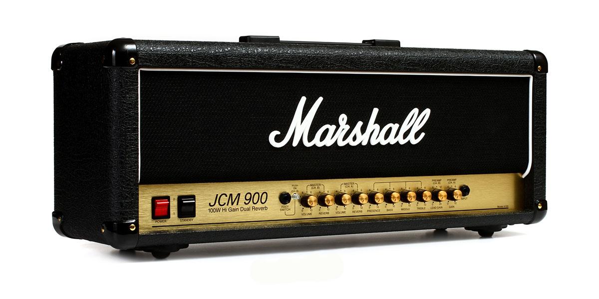 (Русский) Усилитель  Marshall JCM 900